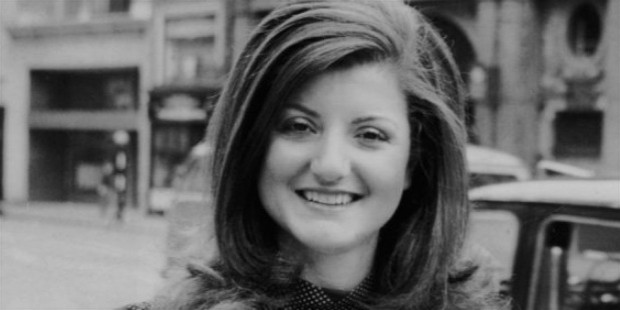 arianna huffington in 1975