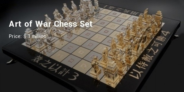 art of war chess set