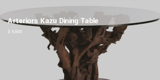 arteriors kazu dining table