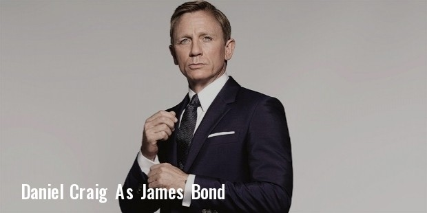 as james bond