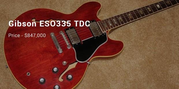 Gibson ESO335 TDC