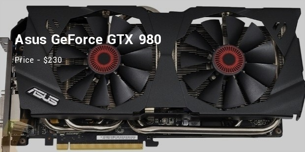 asus geforce gtx 980