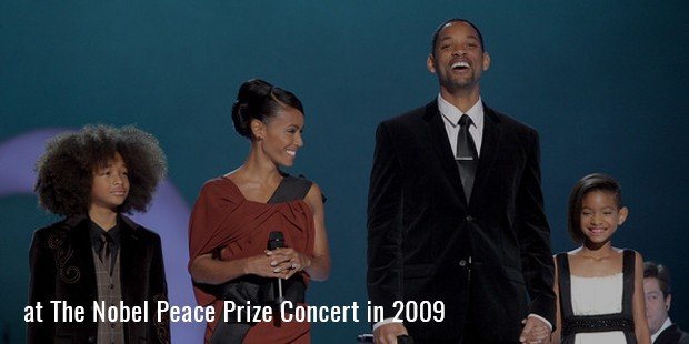 at The Nobel Peace Prize Concert in 2009