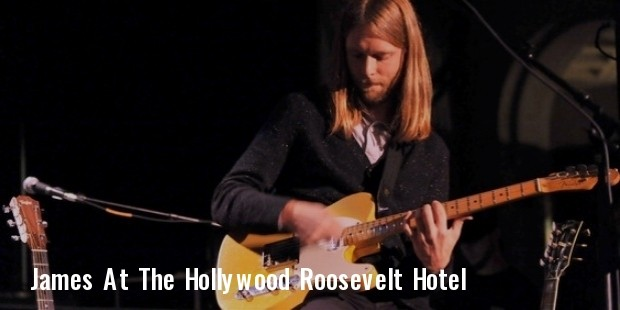 at the hollywood roosevelt hotel