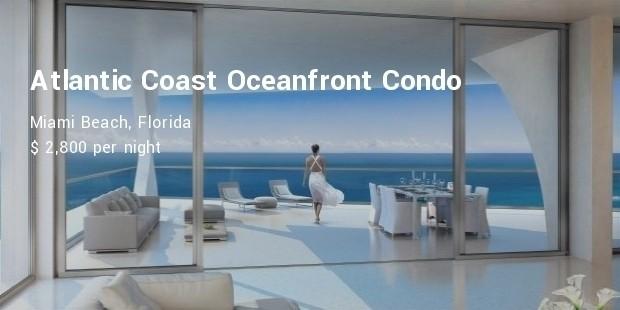 atlantic coast oceanfront condo, miami beach, florida
