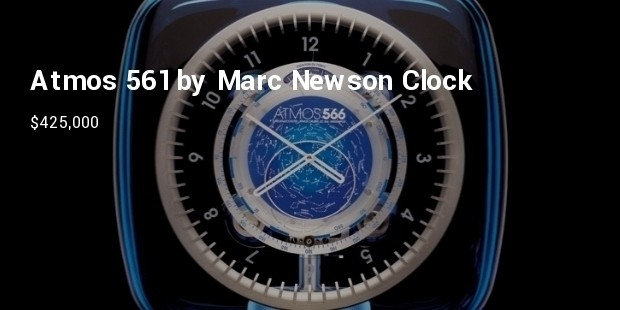 atmos 561 by marc newson clock