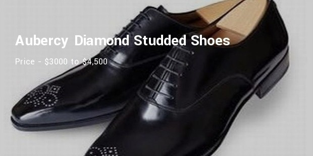 aubercy diamond studded shoes