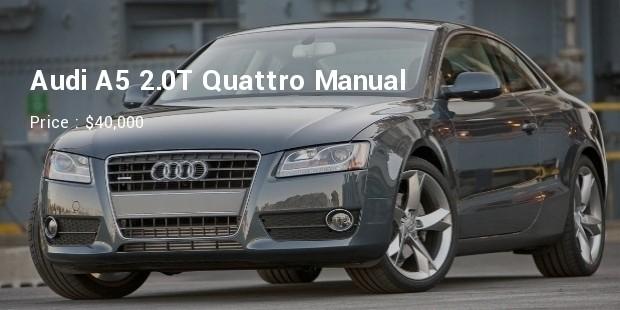 Audi A5 2.0T Quattro Manual