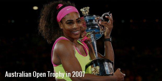 australian open trophy 2007