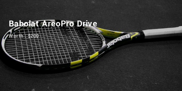 babolat areopro drive