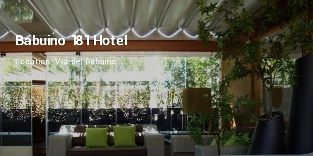 10 luxury hotels in rome lists successstory for Hotel via del babuino