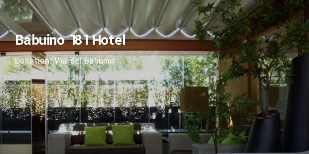babuino 181 hotel