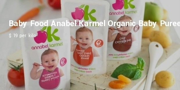 baby food  anabel karmel organic baby pure