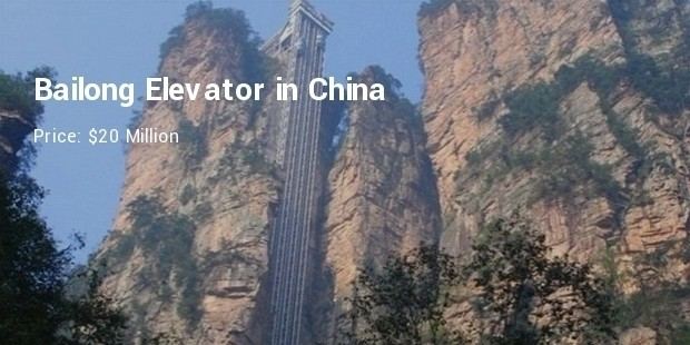 bailong elevator in china