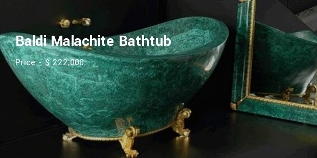 baldi malachite bathtub