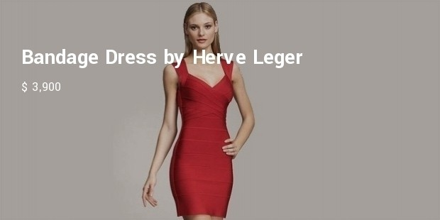 bandage dress by herve leger