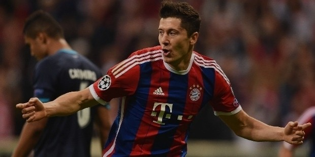 bayern munich lewandowski
