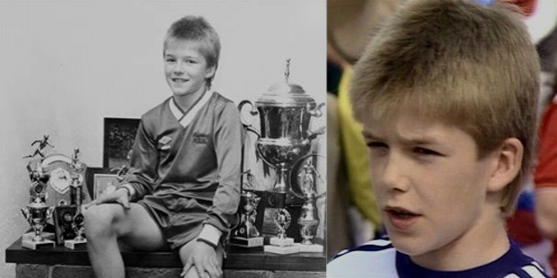 beckham childhood