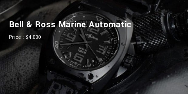 bell   ross marine automatic