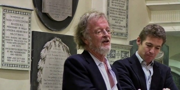 bernard cornwell and saul david,