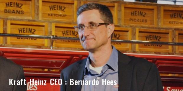 bernardo hees ceo of kraft heinz