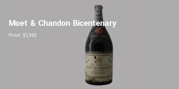 bicentenary cuvee dry imperial 1943