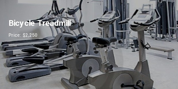 bicycle treadmill   $2,250