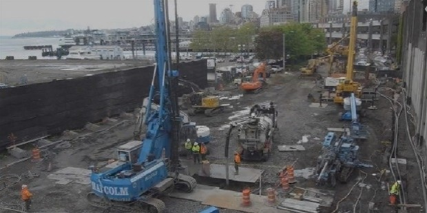 big bertha pit construction cam