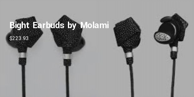 bight earbuds by molami   $223