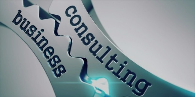 bigstock business consulting on metal g 85265300