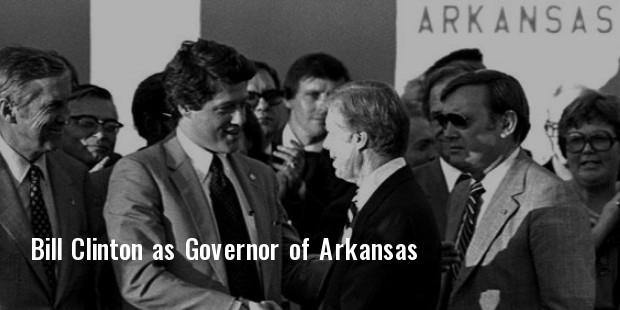 bill as governor of arkansas