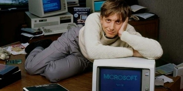 biogrphy of bill gates