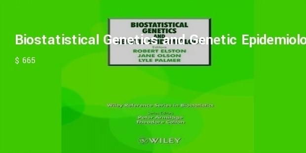biostatistical genetics