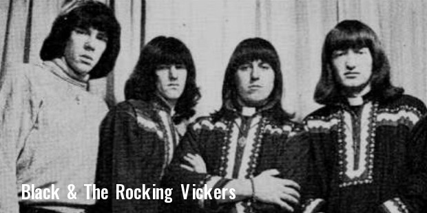 black   the rocking vickers: