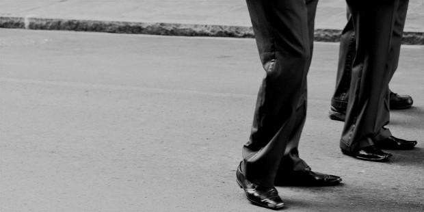 black and white businessman man suit large