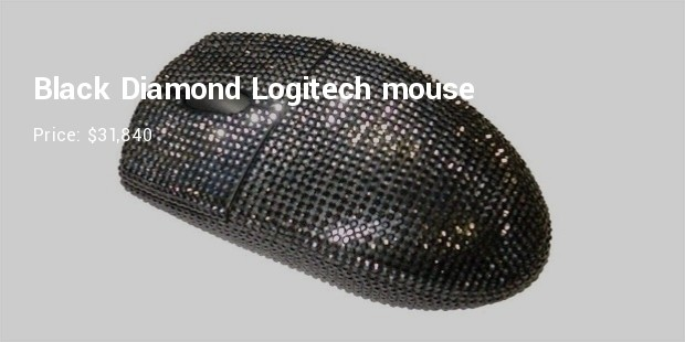 black diamond logitech mouse