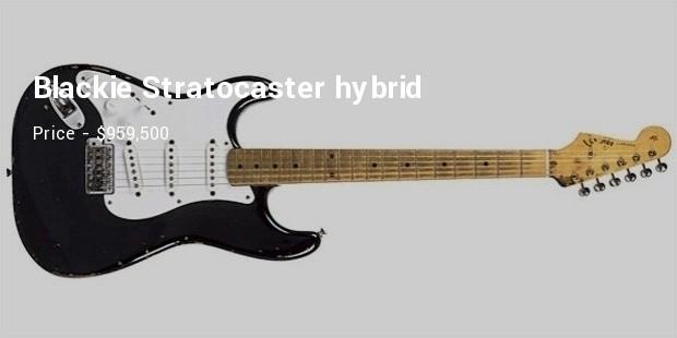 Blackie Stratocaster hybrid