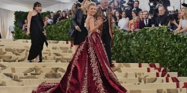 blake lively arrives for the 2018