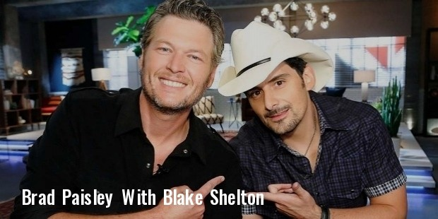 blake shelton and brad paisley