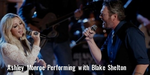 blake shelton ashley monroe