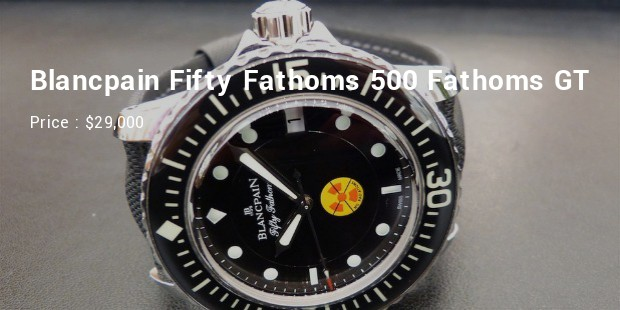 blancpain fifty fathoms 500 fathoms gt