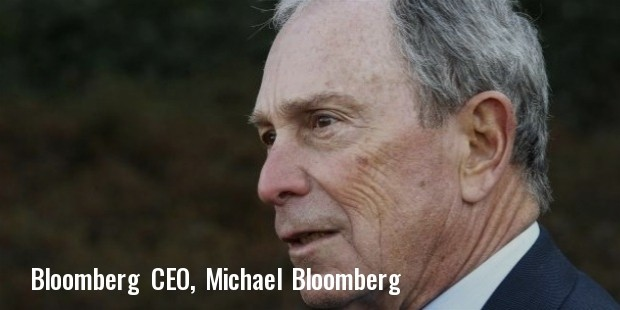 bloomberg ceo
