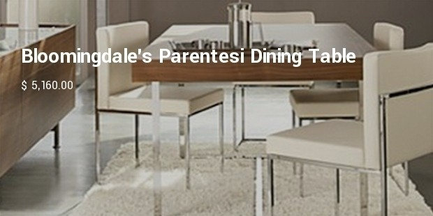bloomingdales parentesi dining table