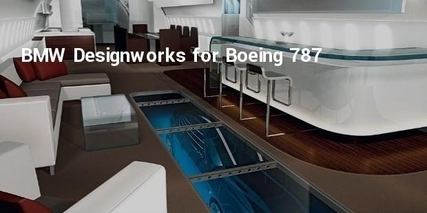 bmw designworks for boeing 787 cabin concept