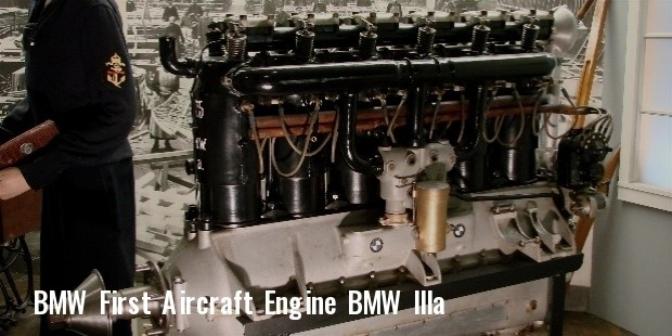 bmw iiia first aircraft engine