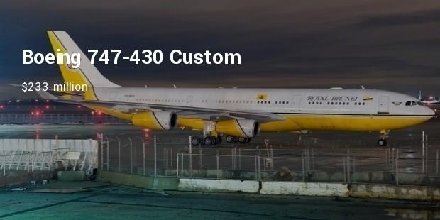 boeing 747 430 custom