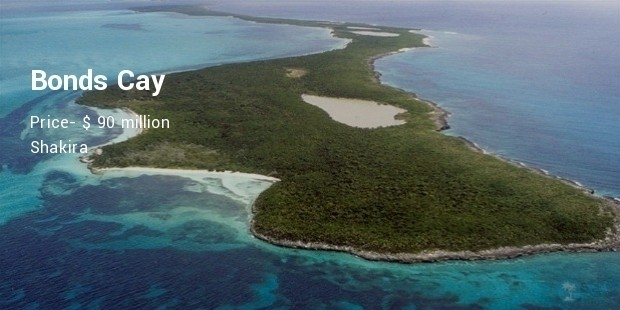bonds cay island