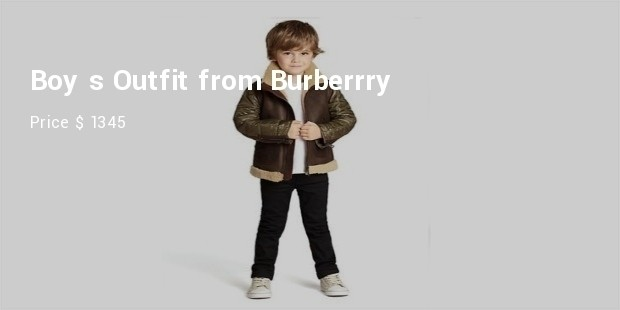 boy s outfit from burberry