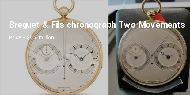 breguet   fils chronograph with two movements