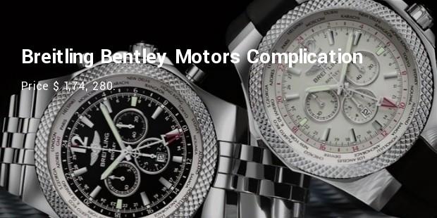 breitling bentley motors complication  model l18841ta b788 761p